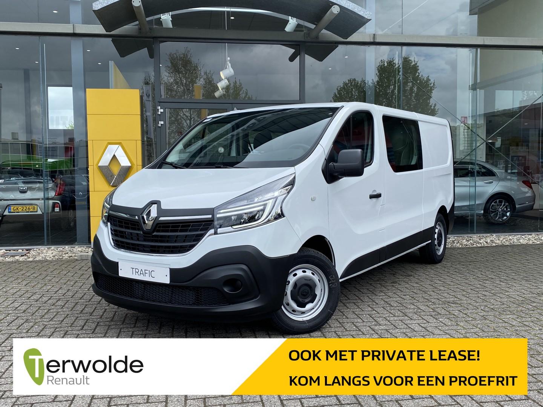 Renault Trafic 2.0 dci 120 t29 l2h1 comfort dubbele cabine € 7.235,- korting! financiering tegen 0%