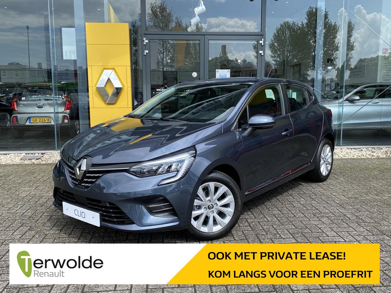 Renault Clio 1.0 tce intens € 2.021,- korting! financiering tegen 3,9%! private lease mogelijk!