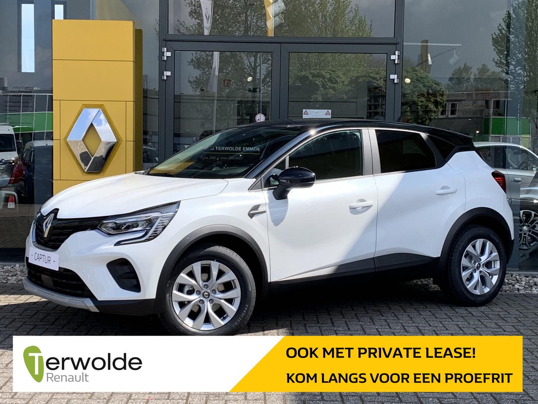 Renault Captur 1.0 tce zen € 1.750,- korting! financiering tegen 3,9%! private lease mogelijk!
