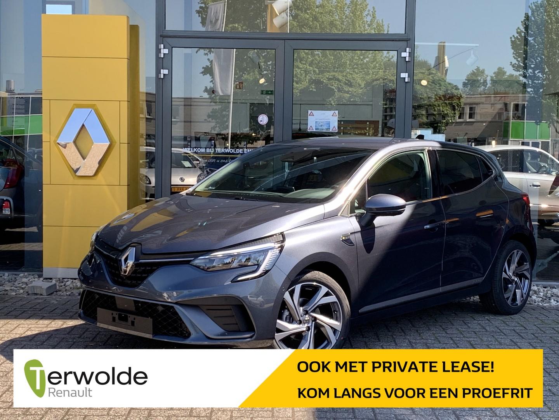 Renault Clio 1.0 tce r.s. line € 2.021,- korting! financiering tegen 3,9%! private lease mogelijk!