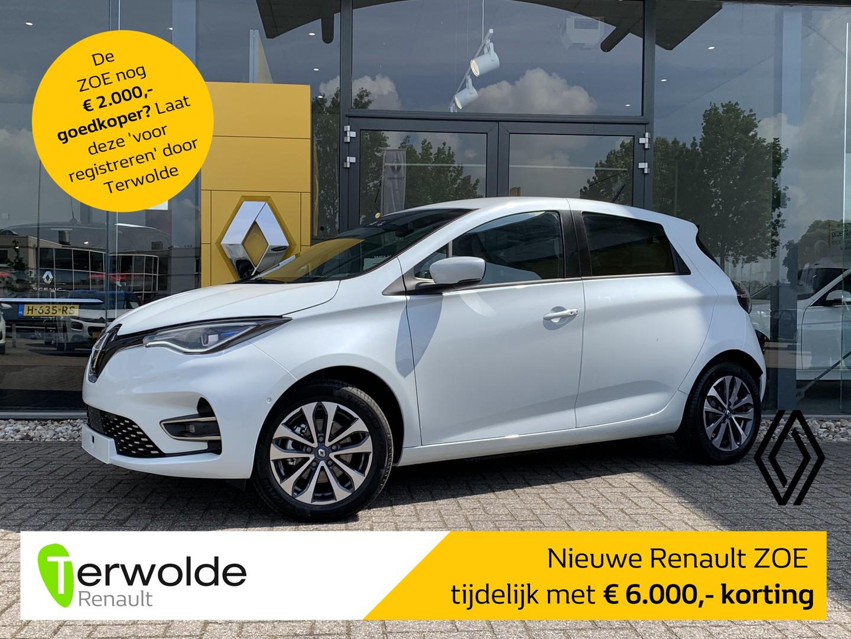 Renault Zoe R135 intens 50 € 6.000 korting! financiering tegen 2,9%! private lease mogelijk!