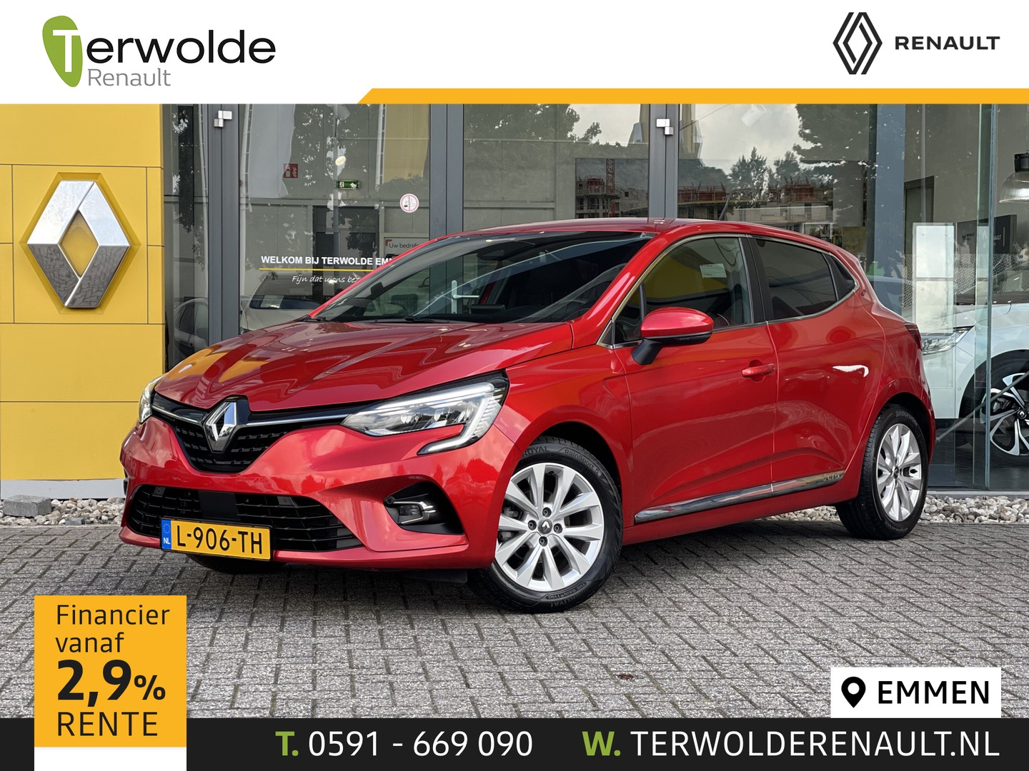 Renault Clio 1.0 tce 100pk intens