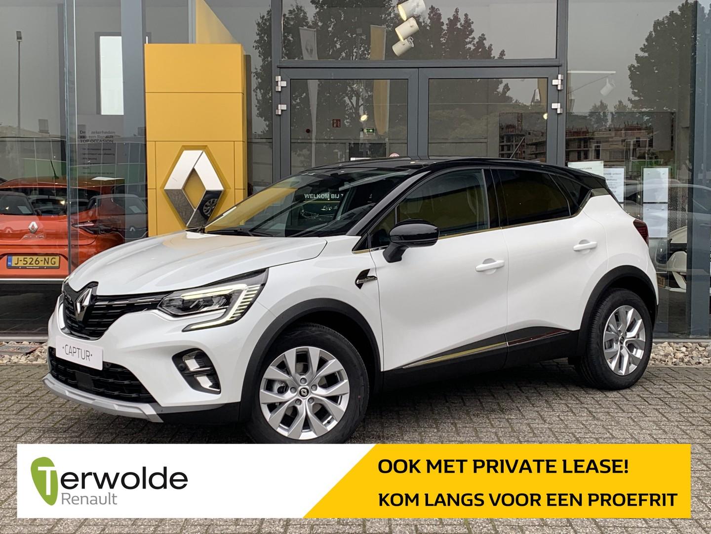 Renault Captur 140 pk tce intens automaat € 2.500,- korting! financiering tegen 3,9%! private lease mogelijk!