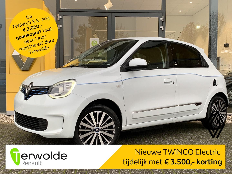 Renault Twingo Z.e. r80 intens € 3.500,- korting! financiering tegen 2,9%! private lease mogelijk!
