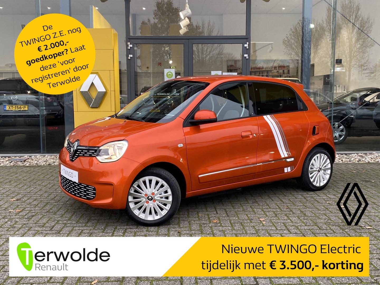 Renault Twingo Z.e. r80 série limitée vibes € 3.500,- korting! financiering tegen 2,9%! private lease mogelijk!
