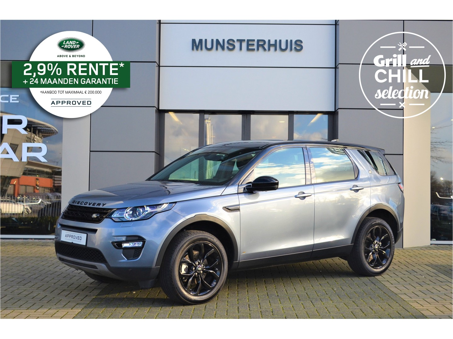 Land rover Discovery sport 2.0 td4 urban series se