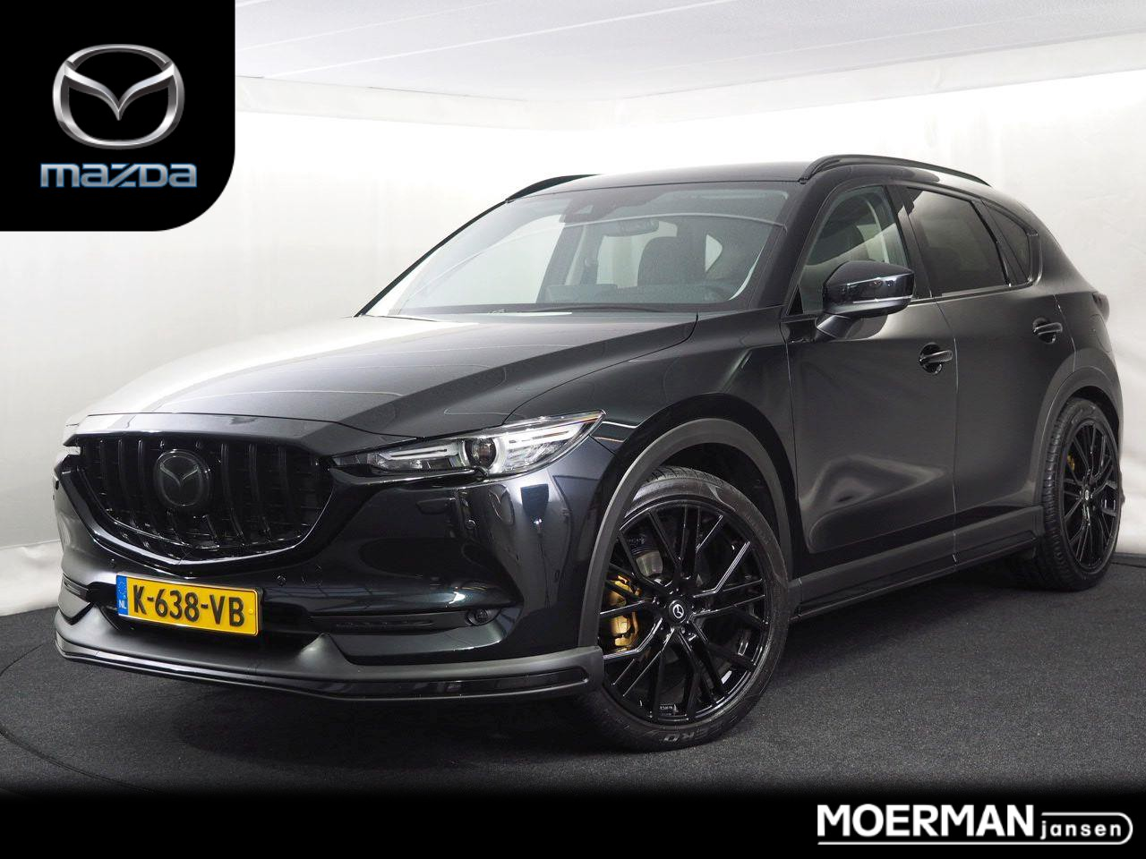 Mazda Cx-5 2.0 luxury rogue ii / speciale dealerdemo! / black on black!