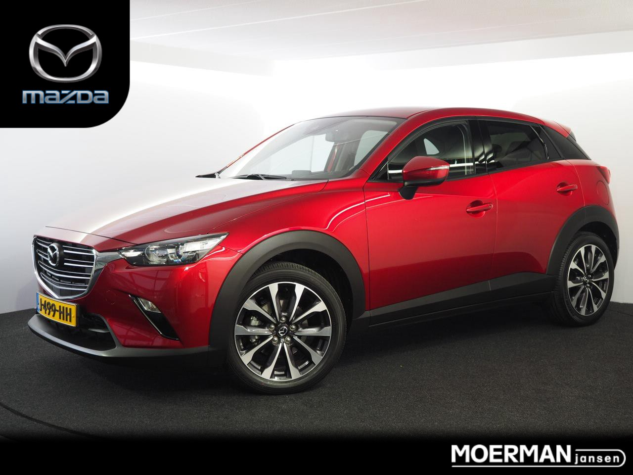 Mazda Cx-3 2.0 skyactiv-g 120 sport selected verkocht