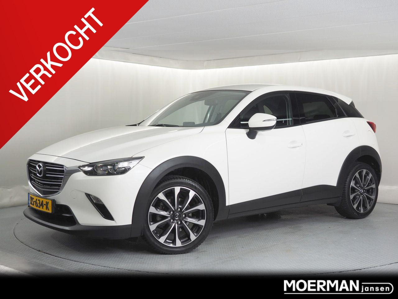 Mazda Cx-3 2.0 sport selected verkocht