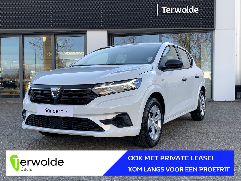 Dacia Sandero 1.0tce 90pk essential + airco uit voorraad! financiering tegen 3,9% rente of 50/50 deal!