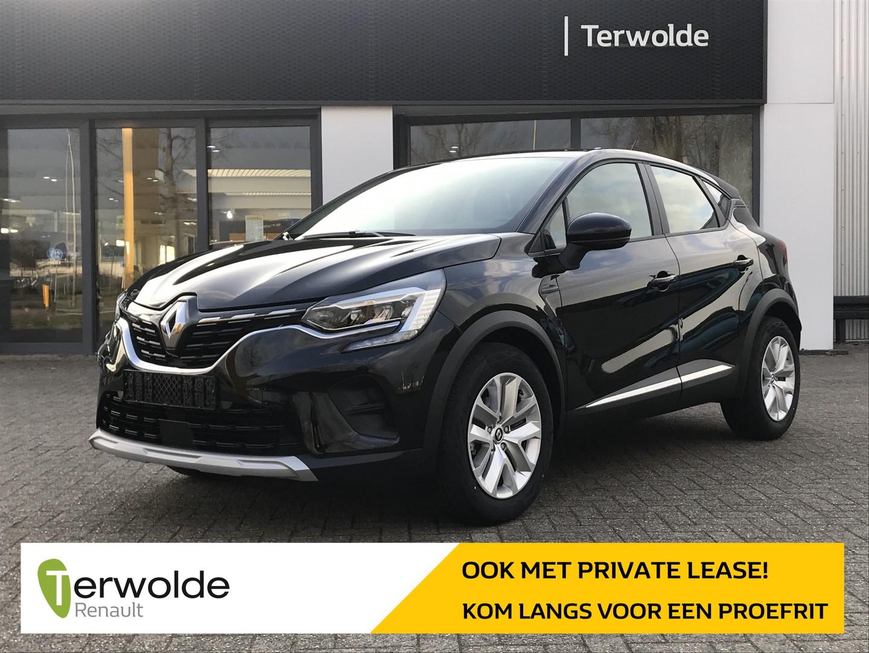Renault Captur 1.3tce 140pk zen automaat € 1.744,- korting! financiering tegen 3,9% of 50/50 deal! private lease mogelijk!