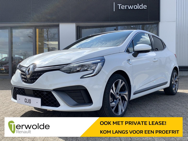 Renault Clio 1.0tce 90pk rs-line €2.021,- korting! financiering tegen 3,9% of 50/50 deal! private lease mogelijk!