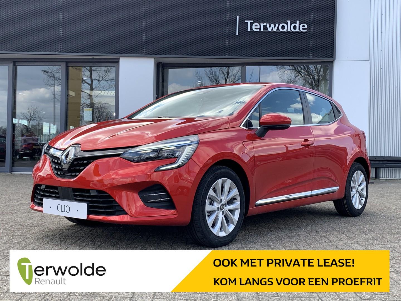 Renault Clio 1.0tce 90pk intens €2.021,- korting! financiering tegen 3,9% of 50/50 deal! private lease mogelijk!