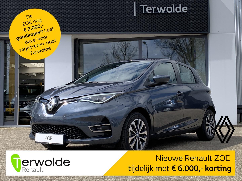 Renault Zoe R135 zen 50 nu tijdelijk met €6.000,- voordeel! financiering tegen 2,9% rente of 50/50 deal! private lease mogelijk!