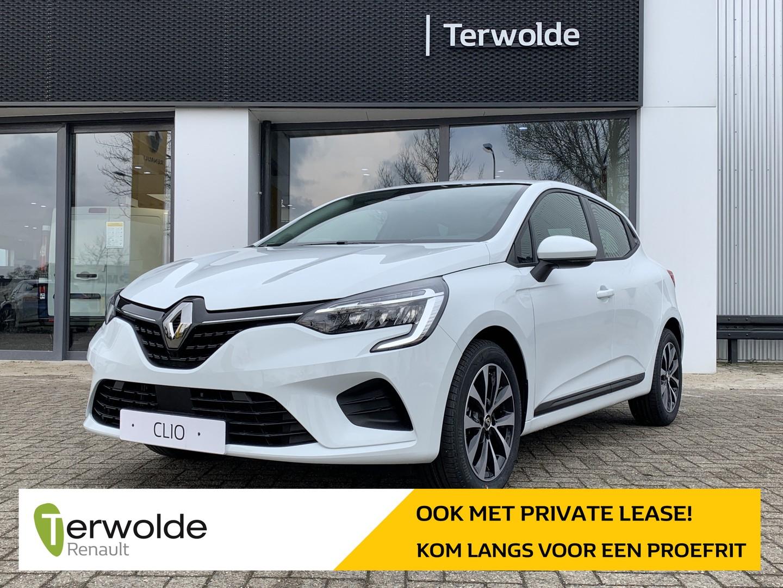 Renault Clio 1.0tce 90pk zen €2.021,- korting! financiering tegen 3,9% of 50/50 deal! private lease mogelijk!