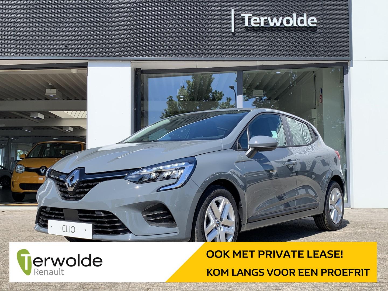 Renault Clio 1.0tce 100pk bi-fuel zen €2.021,- korting! financiering tegen 3,9% of 50/50 deal! private lease mogelijk!
