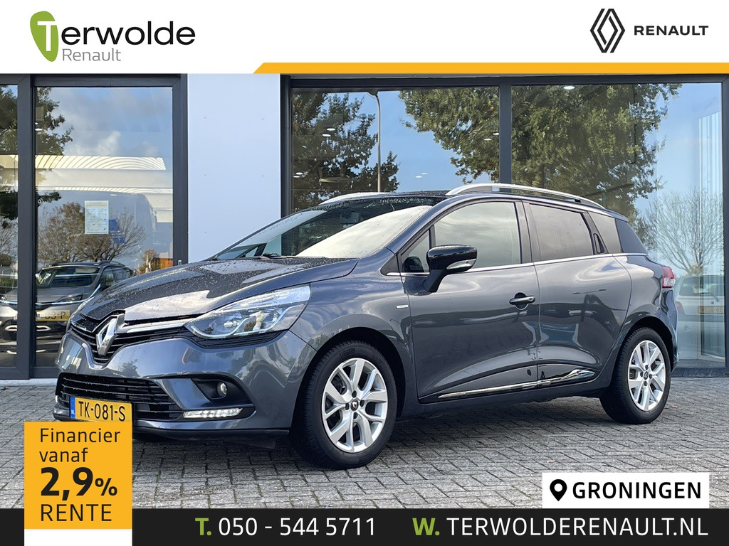 Renault Clio Estate 0.9tce 90pk limited
