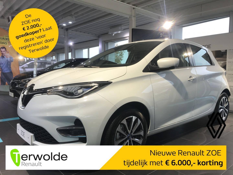 Renault Zoe R135 zen batterijkoop nu tijdelijk met €6.000,- voordeel! financiering tegen 3,9% rente of 50/50 deal! private lease mogelijk!