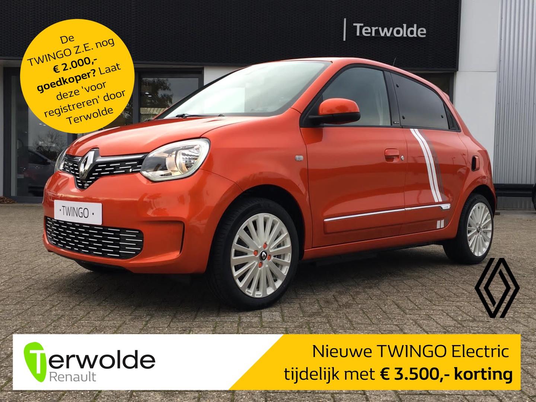 Renault Twingo Z.e. r80 série limitée vibes nu tijdelijk met €3.500,- voordeel! financiering tegen 3,9% rente of 50/50 deal! private lease mogelijk!