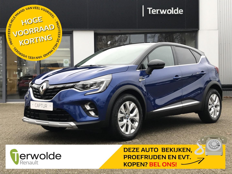 Renault Captur 1.6 plug-in hybrid 160pk intens €2.923,- korting! financiering tegen 2,9% rente of 50/50 deal!