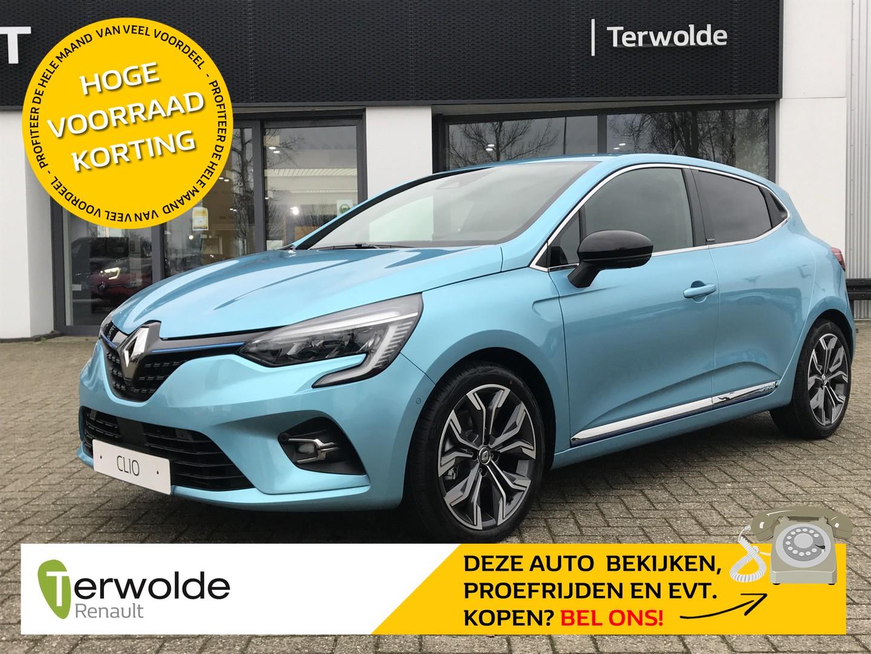 Renault Clio 1.6 hybrid 140pk intens €2.577,- korting! financiering tegen 2,9% rente of 50/50 deal! private lease mogelijk!