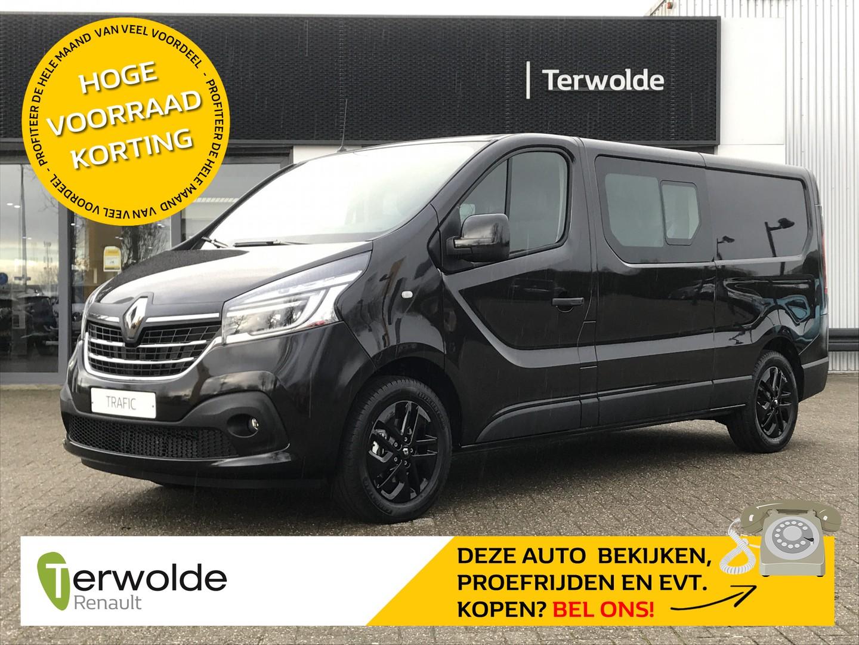Renault Trafic 2.0dci 170pk t29 l2h1 luxe dubbel cabine nieuw te bestellen! €9653,- korting! financial lease mogelijk tegen 0% !