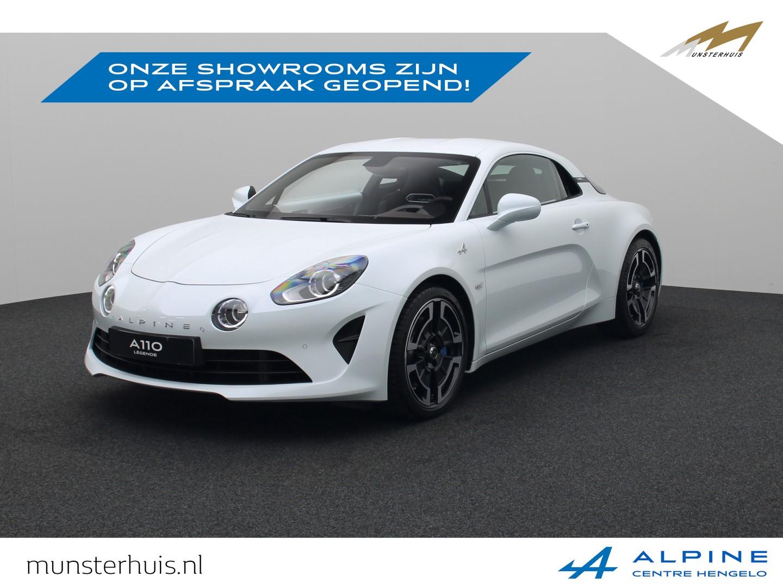 Alpine A110 1.8 turbo légende - nieuw  -  ~alpine munsterhuis~