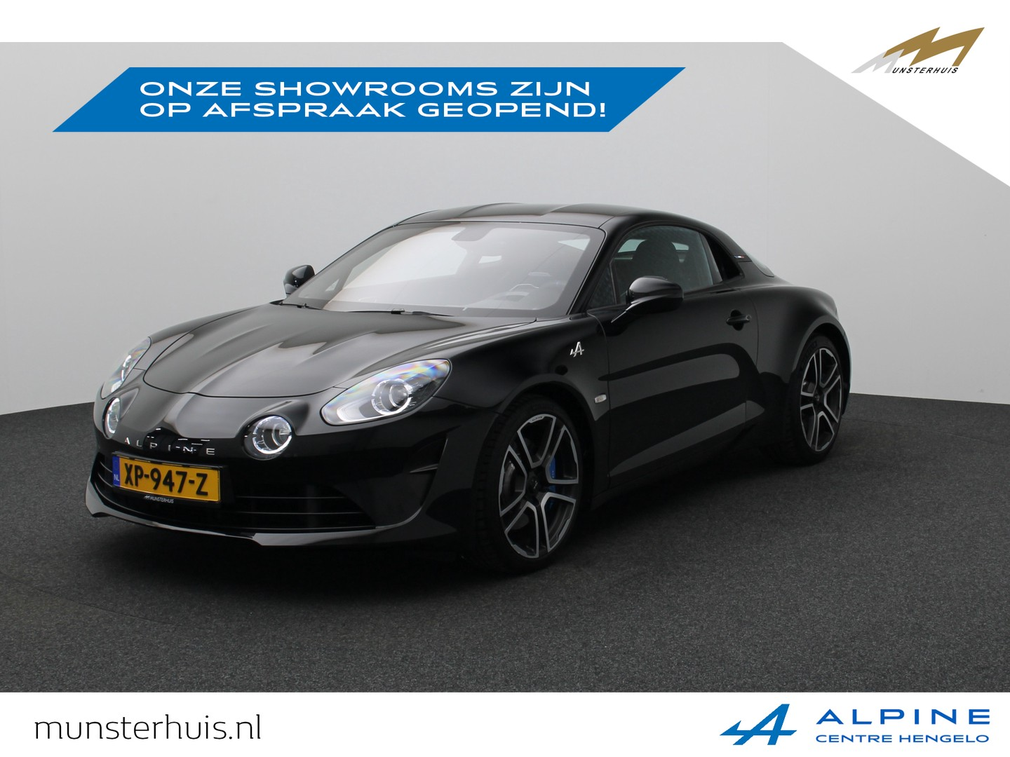 Alpine A110 1.8 turbo premiere edition * 1069 van 1955 *  ~alpine munsterhuis~