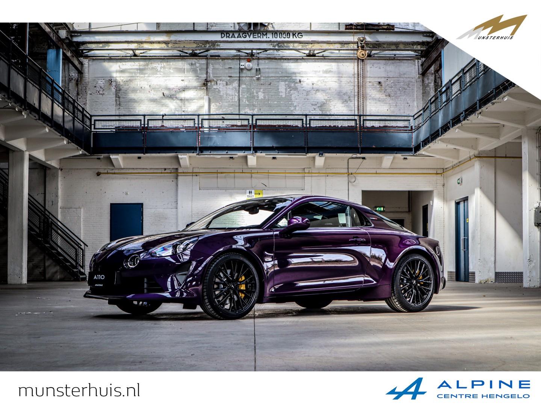 Alpine A110 1.8 turbo s  - atelier / historic color. nr. 03/110 - nieuw