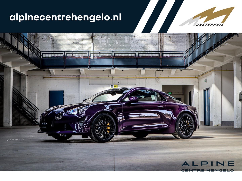Alpine A110 1.8 turbo s  - atelier / historic color. nr. 03/110 - demo