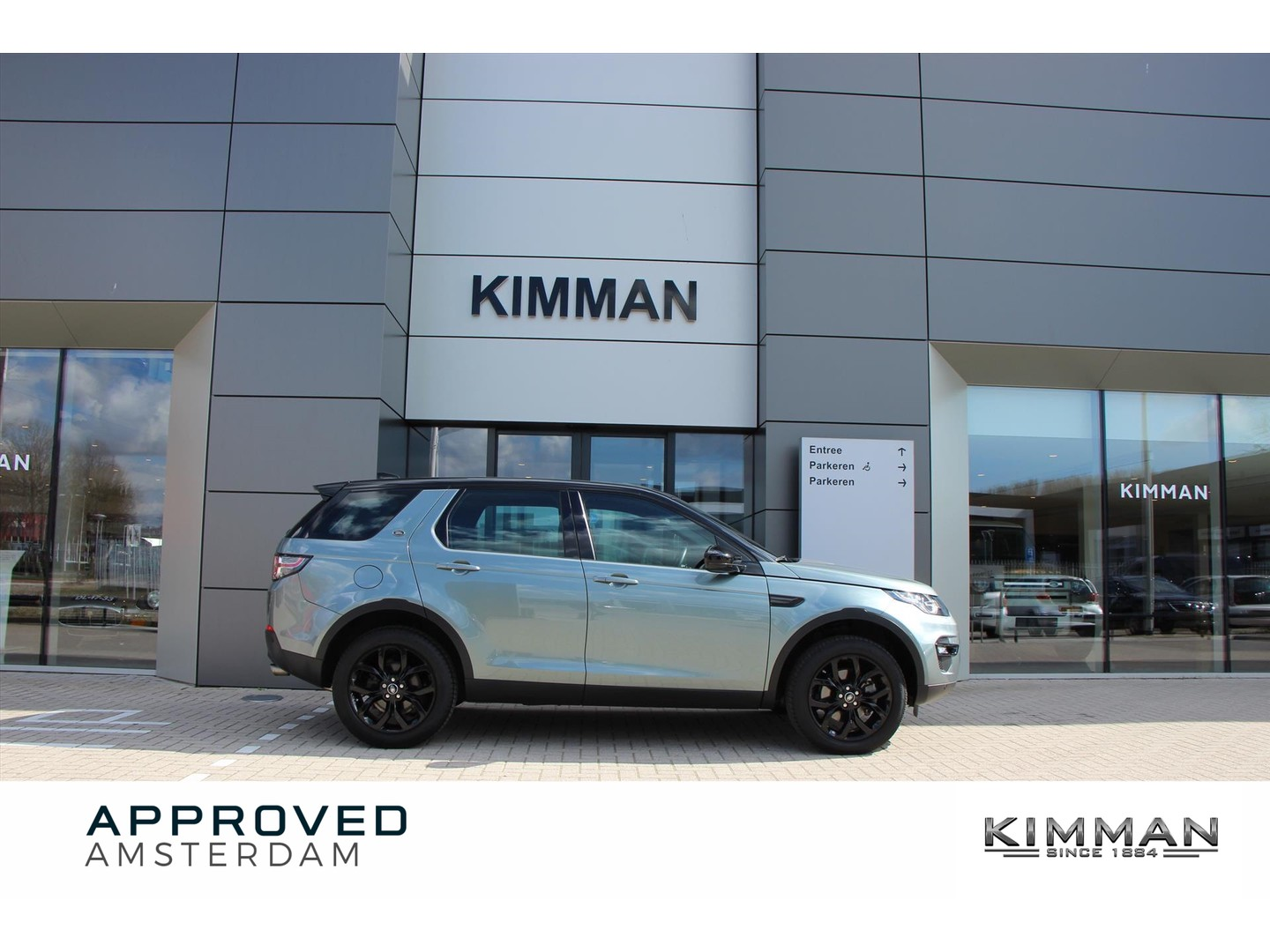 Land rover Discovery sport D150 urban series se black pack aut.9
