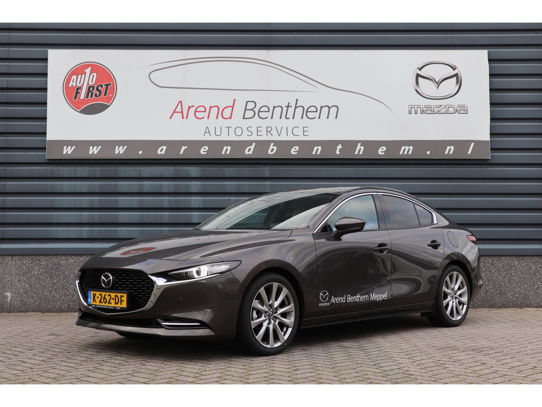 Mazda 3 2.0 skyactiv-x luxury + i-activsense pakket - demo € 3.121,- demovoordeel!