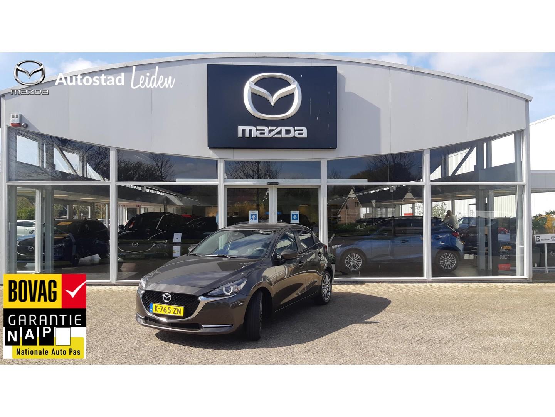 Mazda 2 Luxury incl. i-activsense pakket l navigatie l achteruitrijcamera l 16inch lm velg l demo