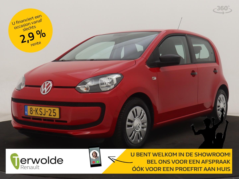 Volkswagen Up! 1.0 take up! bluemotion proefrit aan huis mogelijk!