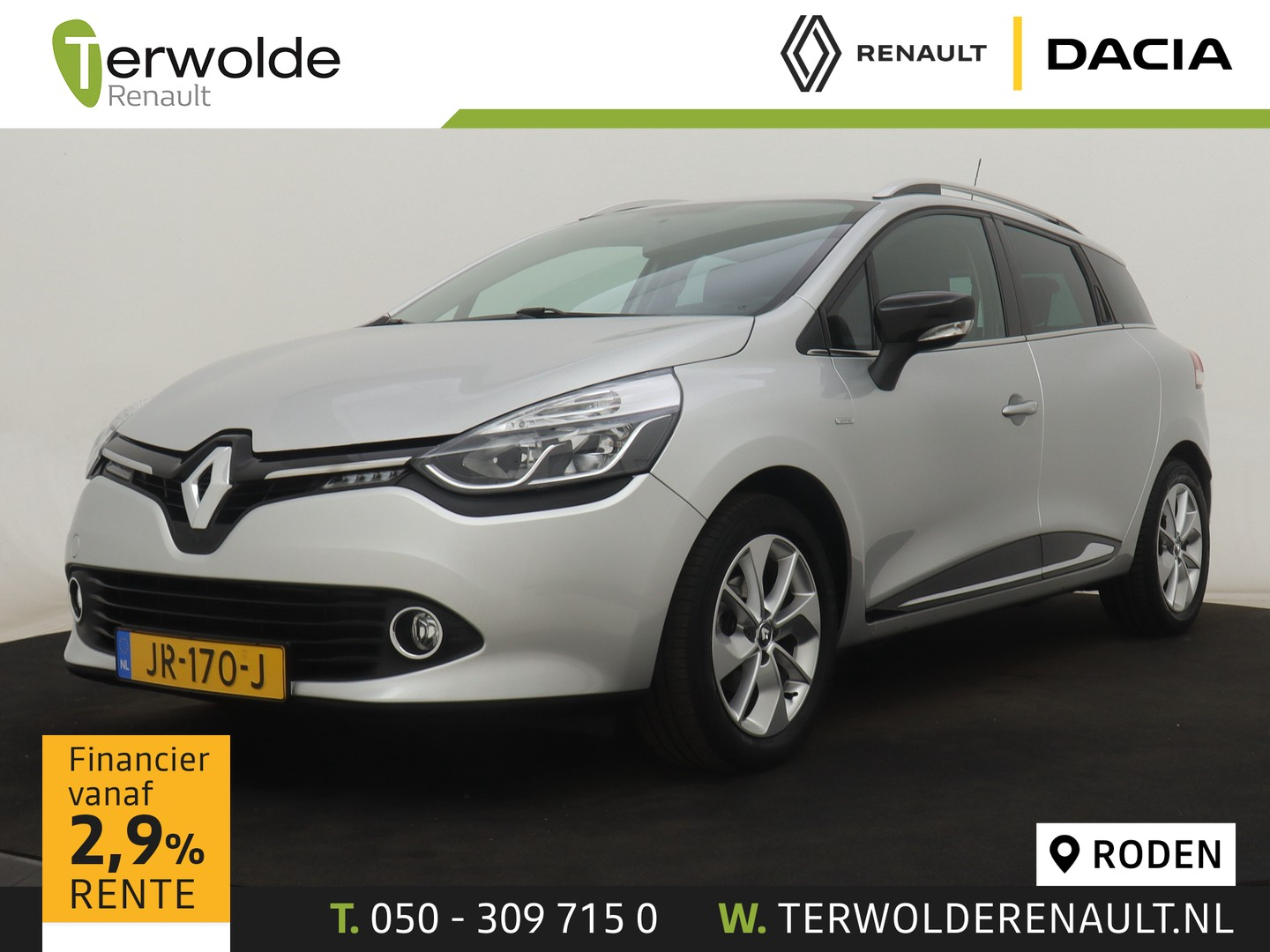 Renault Clio Estate 90 pk tce limited