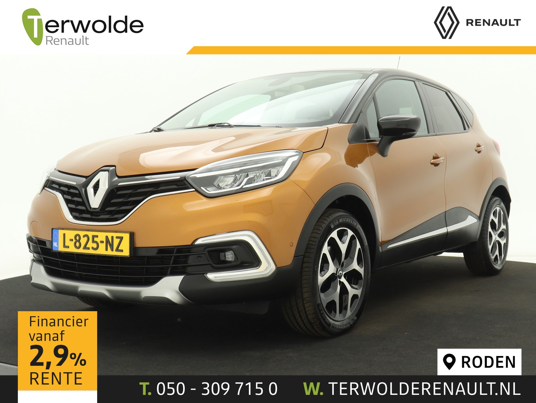 Renault Captur 120pk tce intens automaat climate control i trekhaak i navigatie