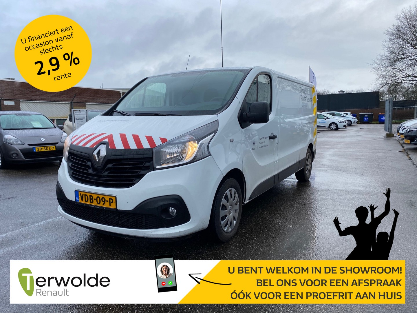 Renault Trafic 1.6 dci t29 l2h1 work edition energy
