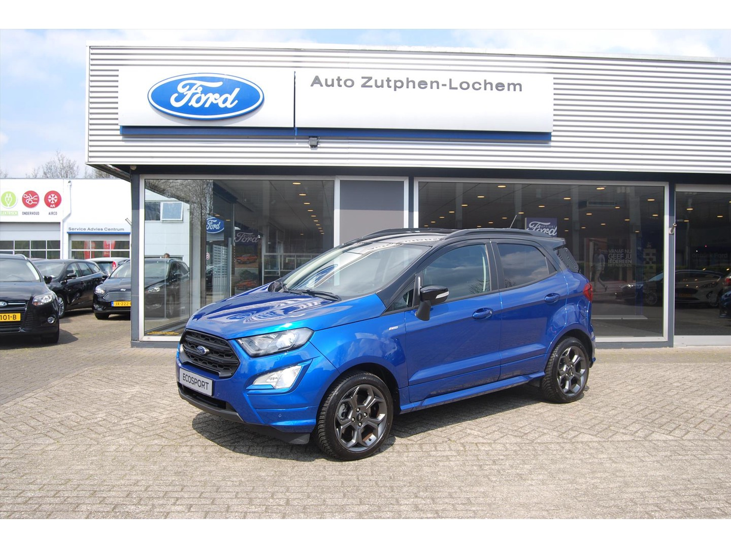 Ford Ecosport 1.0 125pk st-line automaat