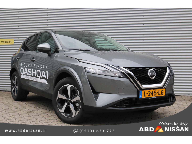 Nissan Qashqai 1.3 mhev n-connecta de splinternieuwe nissan qashqai nu te bekijken en proef te rijden bij abd nissan!