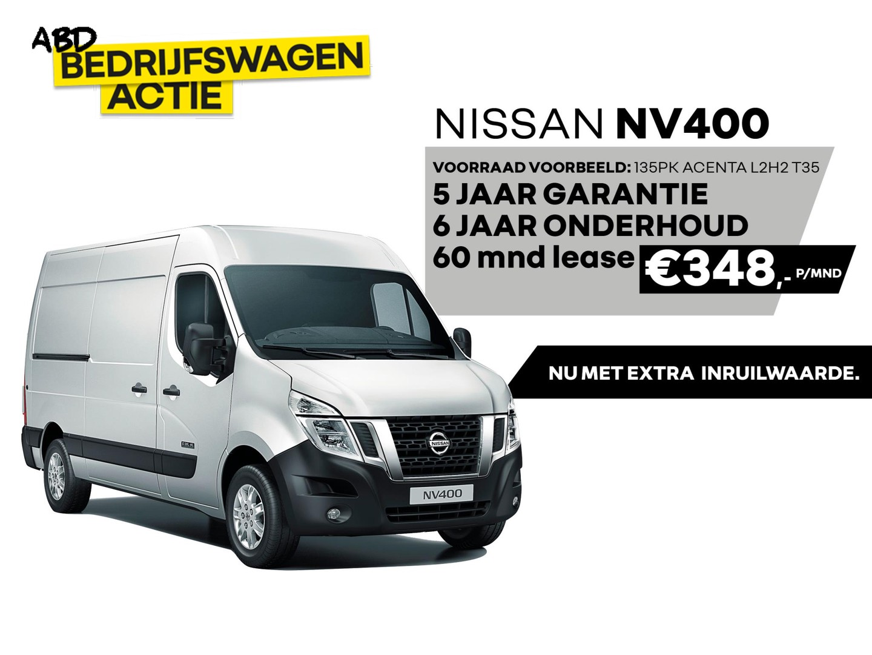 Nissan Nv400 2.3 dci l2h2 acenta