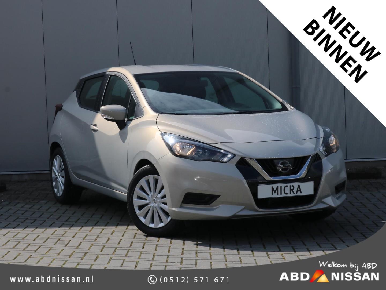 Nissan Micra 1.0 ig-t acenta 5 jaar garantie, 5 jaar gratis onderhoud en €1250,- voordeel!