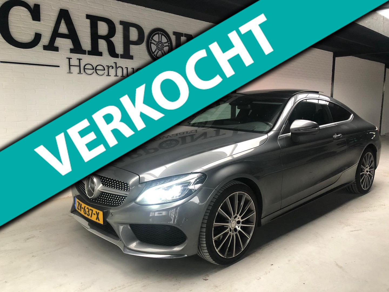 Mercedes-benz C-klasse Coupé 300 prestige 2016 amg pakket*panodak*burmester*head up*camera*stoelventilatie*voll