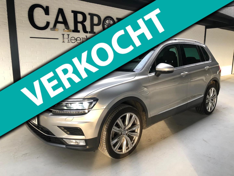 Volkswagen Tiguan 2.0 tsi 4motion highline dsg 2016 virtual*360 camera*panodak*keyless*20 lm velgen voll