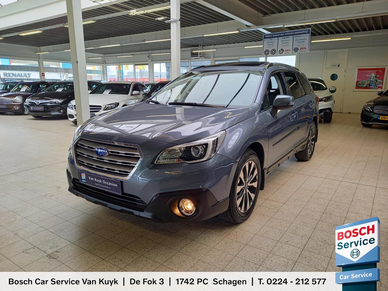 Subaru Outback 2.5i premium automaat / awd / 46.000 km / vol-leder / open-dak / navi / camera / trekhaak / lmv 18' / full-options ! / enz.