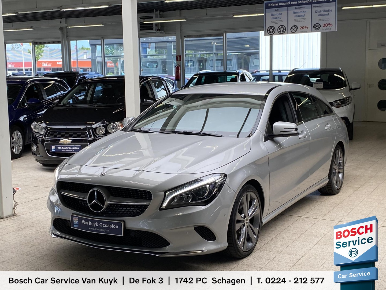 Mercedes-benz Cla-klasse shooting brake 180 business solution / 81.000 km / half-leder / groot-navi / camera / stoelverwarming / cruise-control / pdc / lmv 18' / enz.