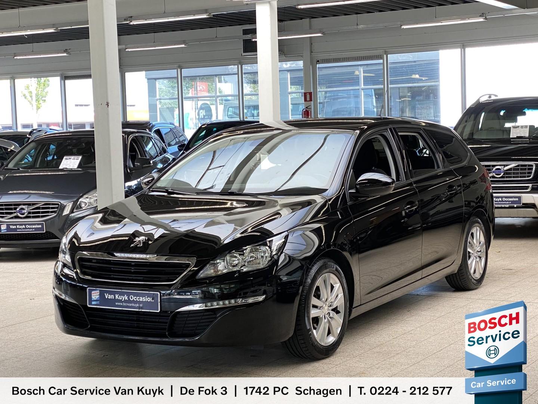 Peugeot 308 sw 1.6 bluehdi blue lease executive / 107.000 km / navi / cruise-control / climate-control / stoelverwarming / privacy glass / pdc / lmv 16' / enz.