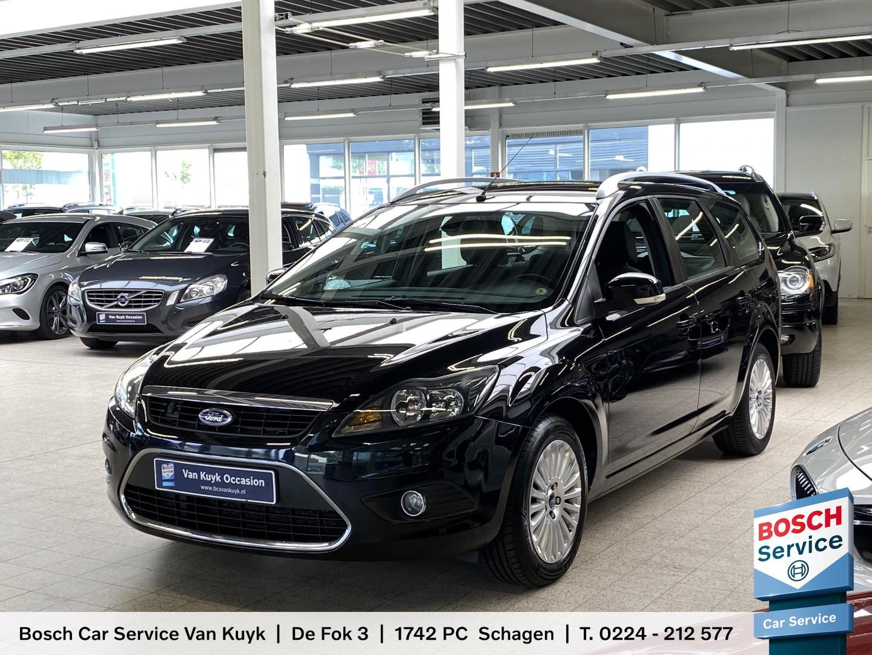 Ford Focus wagon 1.8 titanium flexi fuel / radio-cd / navi / cruise-control / climate-control / pdc / lmv 16' / enz.