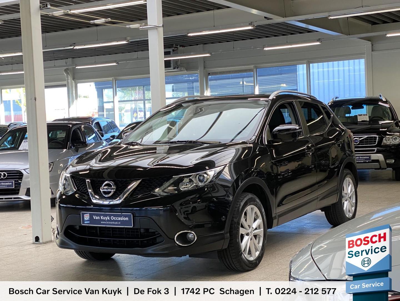 Nissan Qashqai 1.5 dci business edition / vol-leder / pano-dak / 360-camera / radio-bluetooth / navi / stoelverwarming / afn-trekhaak / pdc / lmv 17' / enz.