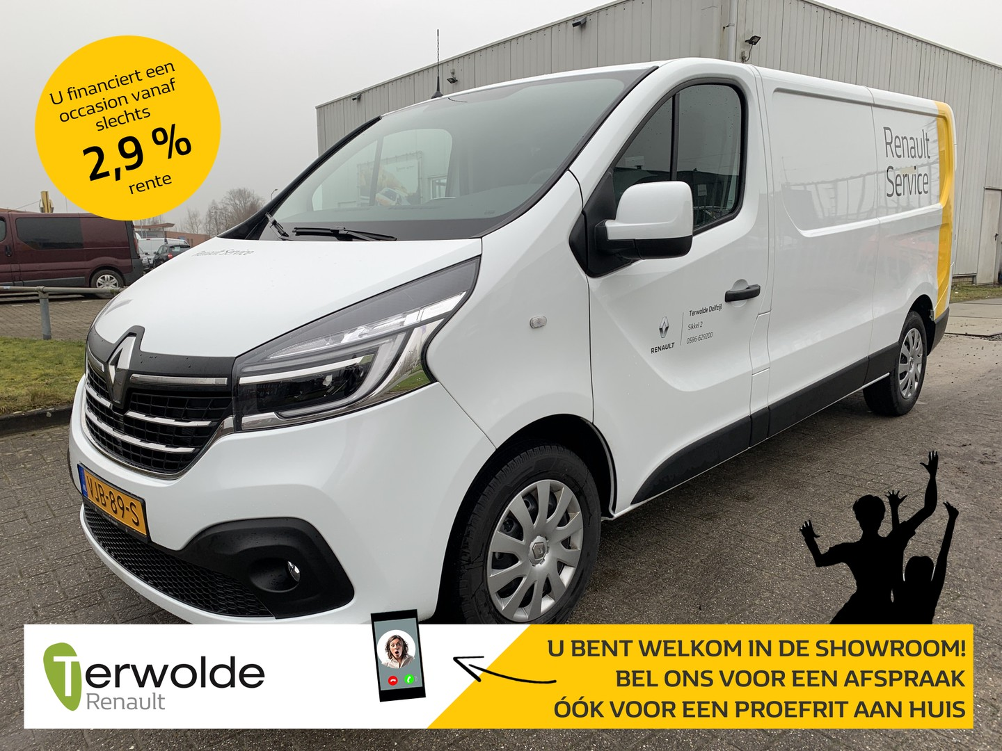 Renault Trafic 2.0 dci 120 t29 l2h1 business