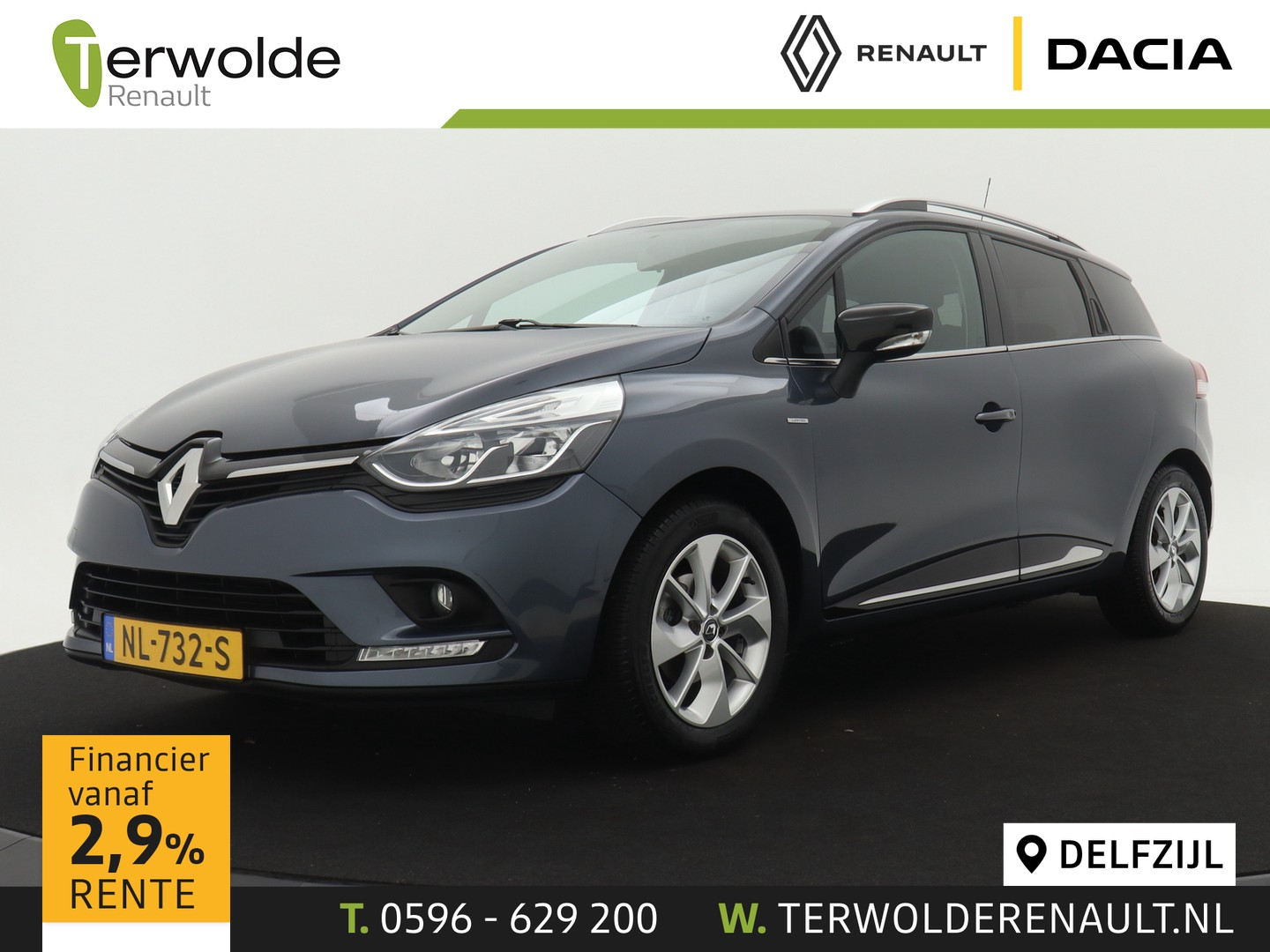 Renault Clio Estate 90 tce limited